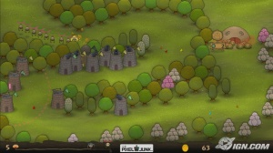 The incredibly addictive 'Pixeljunk Monsters'