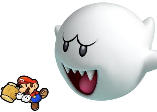 Mario Ghost Survival