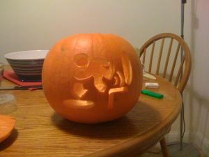 Gaming Pumpkin 8